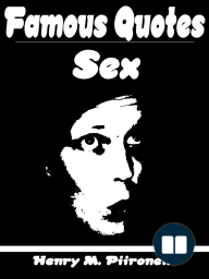 Famous Quotes on Sex