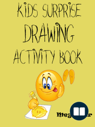 Kids Surprise Drawing Activity Book