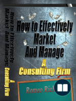 How to Effectively Market and Manage a Consulting Firm