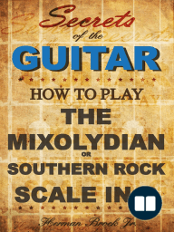 How to play Mixolydian or Southern Rock Scale in G