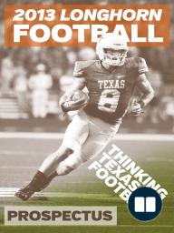 2013 Longhorn Football Prospectus