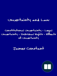 Uncertainty and Law
