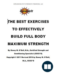 The Best Exercises To Effectively Build Full Body Maximum Strength