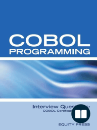 COBOL Programming Interview Questions