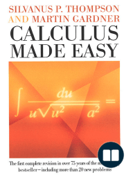 Calculus Made Easy