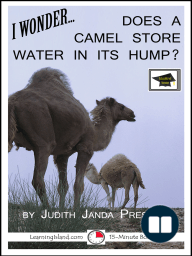 I Wonder... Does A Camel Store Water In Its Hump? A 15-Minute Book, Educational Version