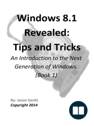 Windows 8.1 Revealed
