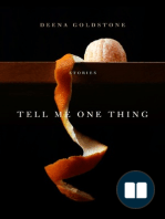 [EXCERPT] Tell Me On Thing by Deena Goldstone