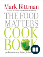 Food matters by mark bittman read online the food matters cookbook 500 revolutionary recipes for better living forumfinder Images