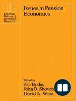 Issues in Pension Economics