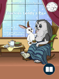 Freckles the Bunny Series, Book # 3