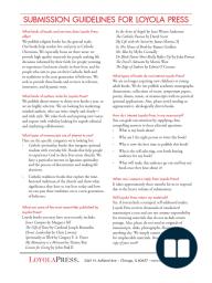 Loyola Press Author Guidelines