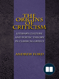 The Origins of Criticism