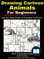 Drawing Cartoon Animals For Beginners