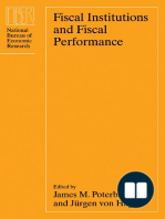 Fiscal Institutions and Fiscal Performance