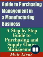 Guide to Purchasing Management in a Manufacturing Business