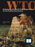Redesigning the World Trade Organization for the Twenty-first Century