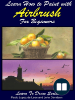 Learn How to Paint with Airbrush For Beginners