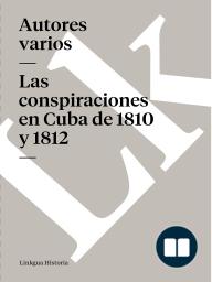 conspiraciones en Cuba de 1810 y 1812