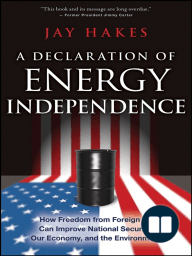 A Declaration of Energy Independence