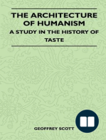 The Architecture of Humanism - A Study in the History of Taste