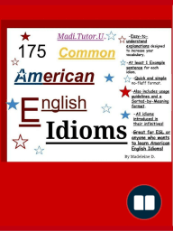175 Common American English Idioms