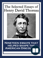 the major essays of henry david thoreau The major source of thoreau's works on henry david thoreau on walden woods recommended print editions of thoreau's writings the writings of henry d thoreau.