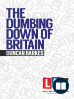 The Dumbing Down of Britain