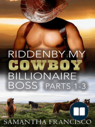 Ridden By My Cowboy Billionaire Boss, Parts 1-3 (Gay BDSM Love Stories, #3)