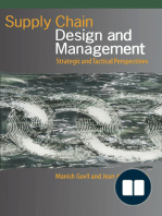 Supply Chain Design and Management