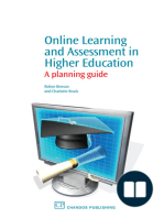 Online Learning and Assessment in Higher Education