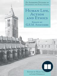 Human Life, Action and Ethics