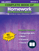 Milliken's Complete Book of Homework Reproducibles - Grade 5