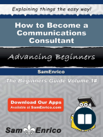How to Become a Communications Consultant
