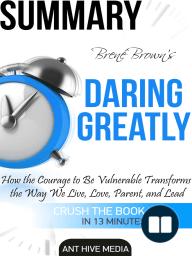 Brené Brown's Daring Greatly