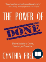 The Power of Done