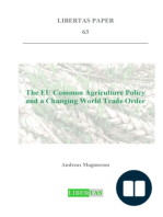 The Common Agricultural Policy and a Changing World Trade Order