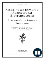 Assessing the impacts of agricultural biotechnologies