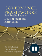 Governance Frameworks for Public Project Development and Estimation
