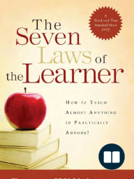7 Laws of the Learner by Bruce Wilkinson (Chapter 1)