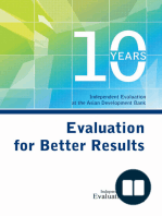 Evaluation for Better Results