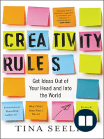 Creativity Rules