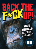 Back the F*ck Up!