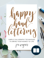 Happy Hand Lettering