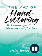 The Art of Hand-Lettering