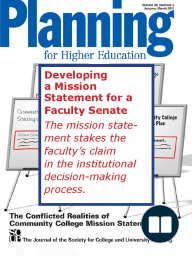 Developing a Mission Statement for a Faculty Senate