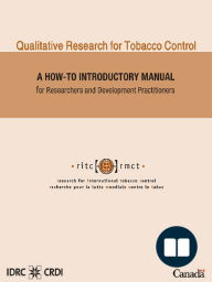 Qualitative Research for Tobacco Control