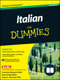 Italian For Dummies, Enhanced Edition
