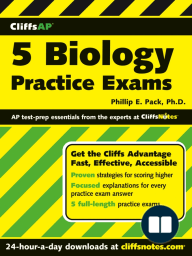 CliffsAP 5 Biology Practice Exams