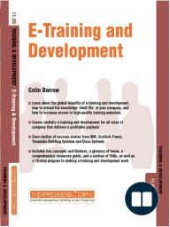 E-Training and Development